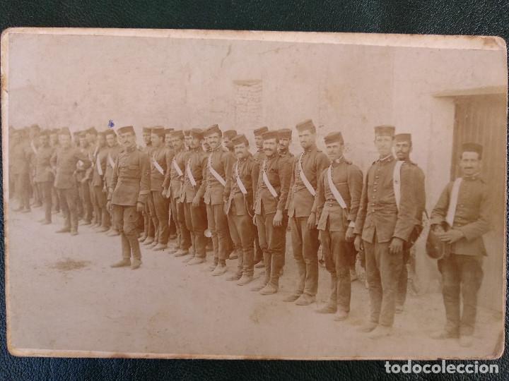 GUERRA MARRUECOS, MILITARES. FOTOGRAFIA GRACIA, ZARAGOZA (Fotografía Antigua - Tarjeta Postal)