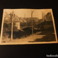 Fotografía antigua: PANCORBO MIRANDA DE EBRO BURGOS 11X8 CM. Lote 171323945