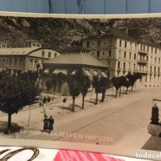 Fotografía antigua: FOTOGRAFÍA ANTIGUA BALNEARIO DE PANTICOSA. Lote 172329730