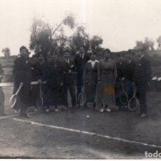Fotografía antigua: ANTIGUA POSTAL DE TENIS - AÑOS 20. Lote 172641259