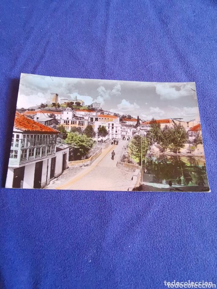 ANTIGUA POSTAL DE MONFORTE DE LEMOS (Fotografía Antigua - Tarjeta Postal)