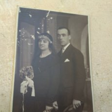 Fotografía antigua: FOTOGRAFÍA BODA - MATRIMONIO - AÑO 1929 - AROA - VALENCIA -. Lote 172946132