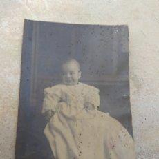 Fotografía antigua: ANTIGUA FOTOGRAFÍA BEBÉ - GROLLO - VALENCIA -. Lote 172946317