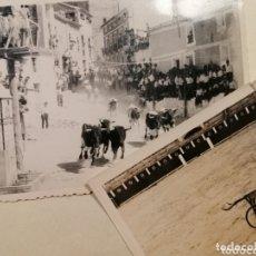 Fotografía antigua: ELCHE DE LA SIERRA ALBACETE ENCIERRO PLAZA TOROS AÑOS 50-60. Lote 173161339