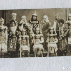 Fotografía antigua: PASO BLANCO LORCA, GRUPO SALOMON, FOTOGRAFO MENCHON, AÑOS 20. Lote 173891202