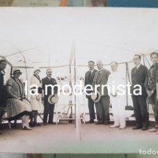 Fotografía antigua: ANTIGUA FOTOGRAFIA TARJETA POSTAL BOY SCOUT EXPLORADORES TROPA CARTAGENA MURCIA. Lote 174255012