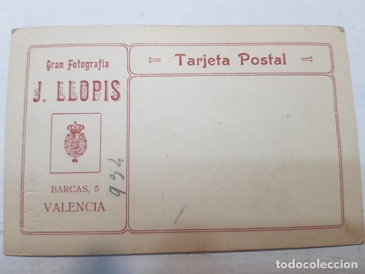 Fotografía antigua: Fotografía Antigua-Posado de Estudio-Llopis Valencia años 20 sellada - Foto 3 - 174589939
