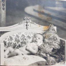 Fotografía antigua: FOTOGRAFÍA ANTIGUA-POSADO DE ESTUDIO-1925 SELLADA. Lote 174593053