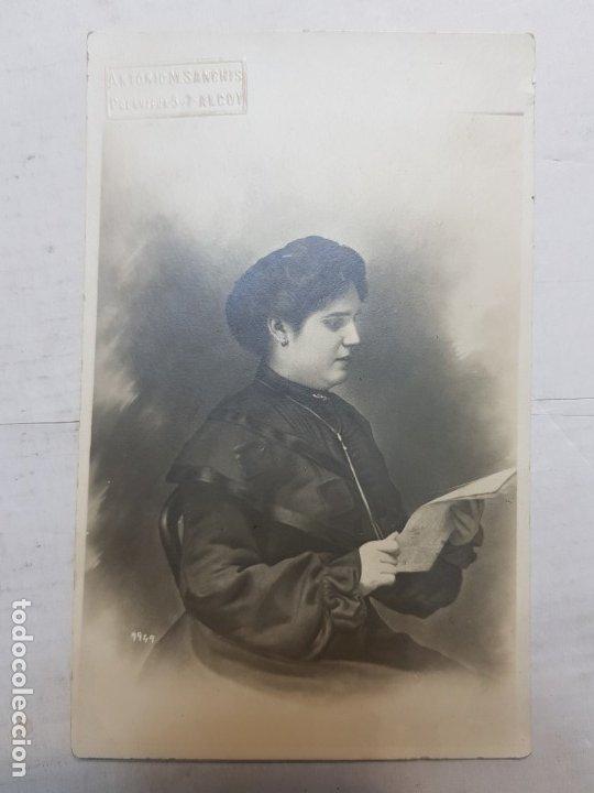 Fotografía antigua: Fotografía Antigua-Posado de Estudio-Antoni M.Sanchis Alcoy años 20 - Foto 2 - 174593675