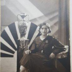 Fotografía antigua: FOTOGRAFÍA ANTIGUA-POSADO DE ESTUDIO-FOTO STUDIO ALCOY 1932. Lote 174594338