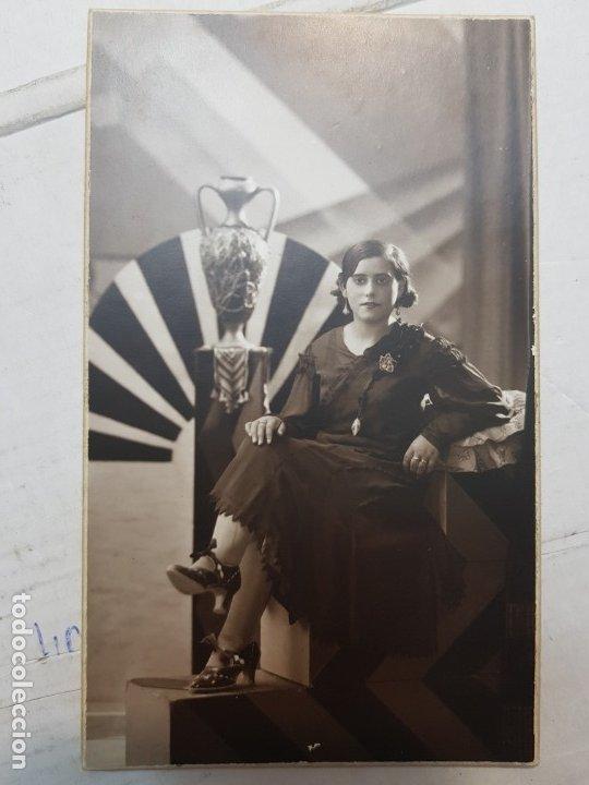 Fotografía antigua: Fotografía Antigua-Posado de Estudio-Foto Studio Alcoy 1932 - Foto 2 - 174594338