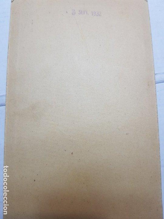 Fotografía antigua: Fotografía Antigua-Posado de Estudio-Foto Studio Alcoy año 1932 sellada - Foto 3 - 174603447