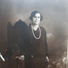 Fotografía antigua: FOTOGRAFÍA ANTIGUA-POSADO DE ESTUDIO- MATARREDONA AÑOS 1910 SELLADA. Lote 174609784