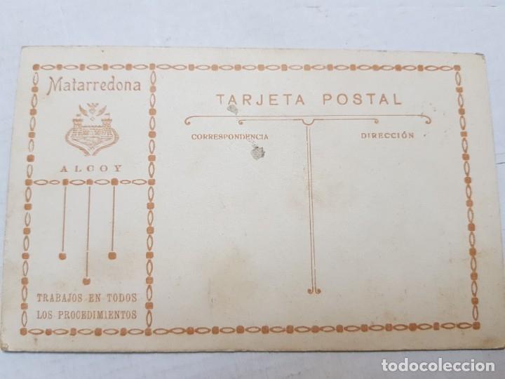 Fotografía antigua: Fotografía Antigua-Posado de Estudio- Matarredona años 1910 sellada - Foto 2 - 174609784