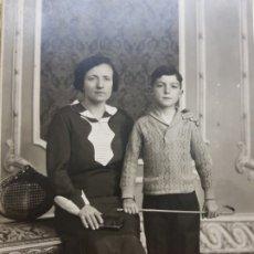 Fotografía antigua: FOTOGRAFÍA ANTIGUA-POSADO DE ESTUDIO- MATARREDONA AÑOS 1910 SELLADA . Lote 174611507