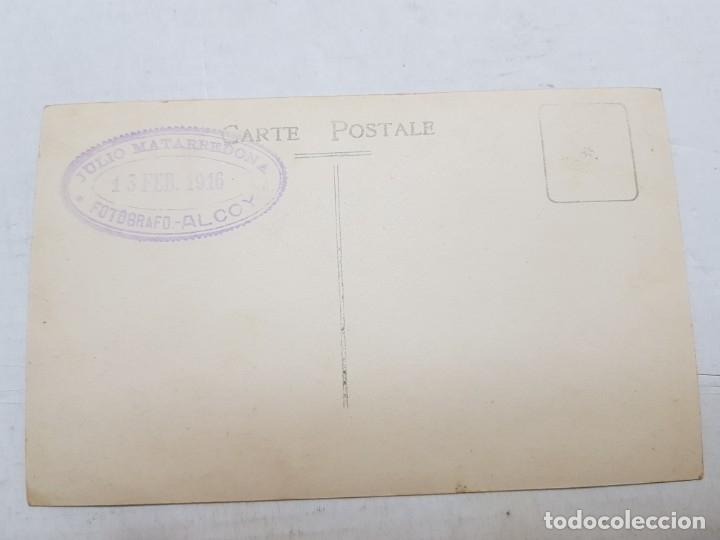 Fotografía antigua: Fotografía Antigua-Posado de Estudio- Matarredona años 1916 sellada - Foto 3 - 174614363