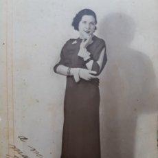 Fotografía antigua: FOTOGRAFÍA ANTIGUA-POSADO DE ESTUDIO- MATARREDONA AÑOS 1910 SELLADA . Lote 174615569