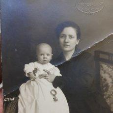 Fotografía antigua: FOTOGRAFÍA ANTIGUA-POSADO DE ESTUDIO- MATARREDONA AÑOS 1910 SELLADA . Lote 174617528