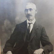 Fotografía antigua: FOTOGRAFÍA ANTIGUA-POSADO DE ESTUDIO- MATARREDONA AÑOS 1910 SELLADA . Lote 174618148