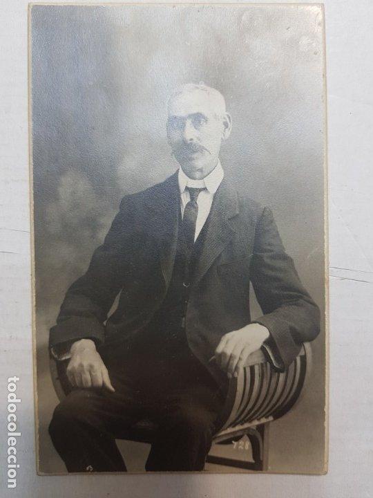 Fotografía antigua: Fotografía Antigua-Posado de Estudio- Matarredona años 1910 sellada - Foto 2 - 174618148