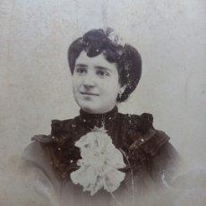 Fotografía antigua: FOTOGRAFÍA ANTIGUA-POSADO DE ESTUDIO- MATARREDONA AÑOS 1910 SELLADA . Lote 174619492
