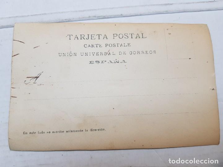 Fotografía antigua: Fotografía Antigua-Posado de Estudio- Matarredona años 1910 sellada - Foto 3 - 174619492