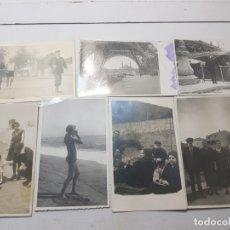 Fotografía antigua: FOTOGRAFÍA TARJETA POSTAL ESPAÑOLES EN EL EXILIO FRANCIA LOTE 7. Lote 175459158