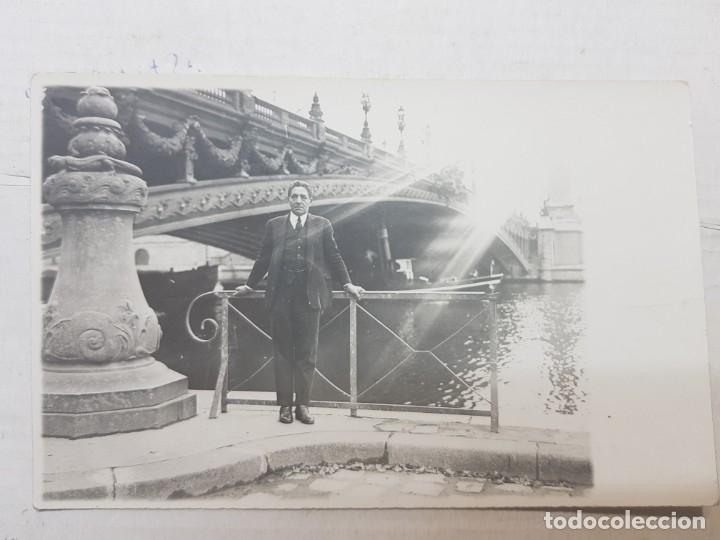 Fotografía antigua: Fotografía tarjeta postal Españoles en el exilio Francia lote 7 - Foto 4 - 175459158