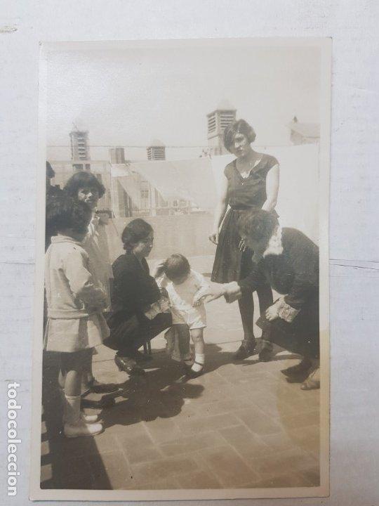 Fotografía antigua: Fotografía tarjeta postal Españoles en el exilio Francia lote 7 - Foto 5 - 175459158
