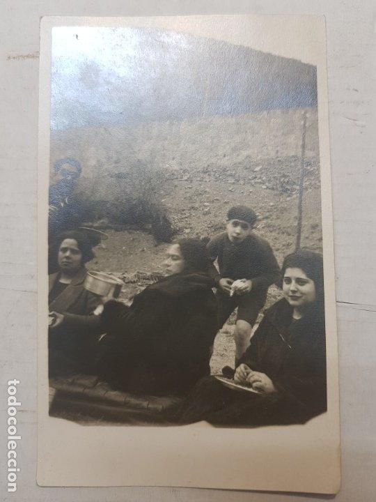 Fotografía antigua: Fotografía tarjeta postal Españoles en el exilio Francia lote 7 - Foto 6 - 175459158