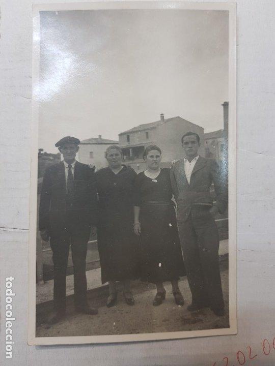 Fotografía antigua: Fotografía tarjeta postal Españoles en el exilio Francia lote 7 - Foto 7 - 175459158