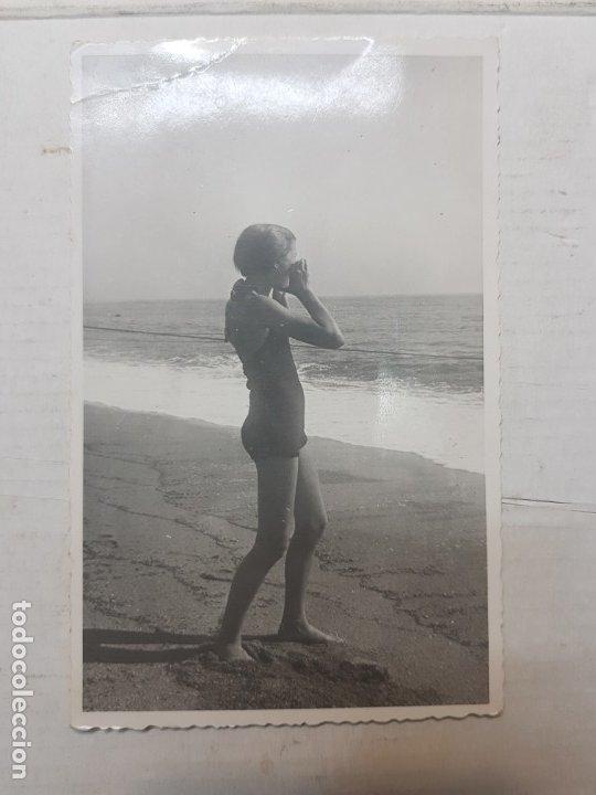 Fotografía antigua: Fotografía tarjeta postal Españoles en el exilio Francia lote 7 - Foto 8 - 175459158
