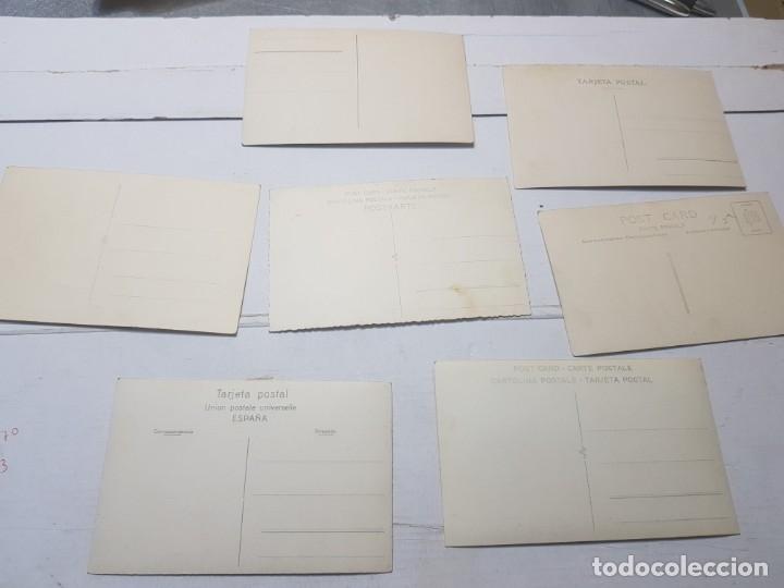 Fotografía antigua: Fotografía tarjeta postal Españoles en el exilio Francia lote 7 - Foto 9 - 175459158