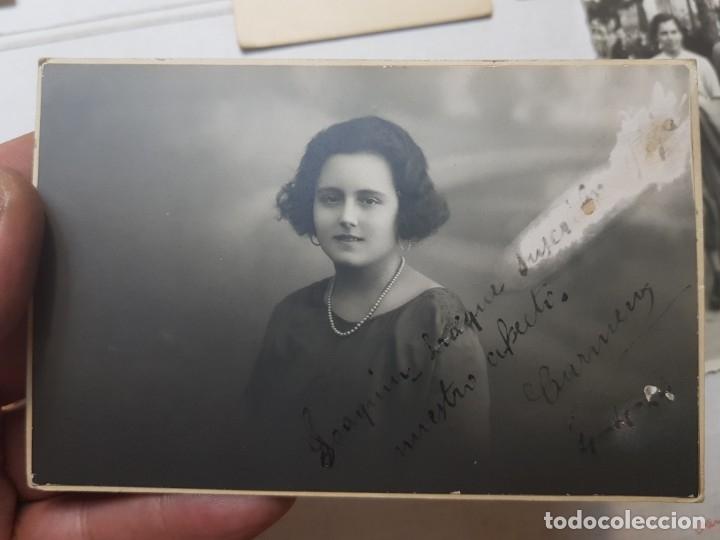 Fotografía antigua: Fotografía tarjeta postal lote 6 algunas selladas años 20-30 - Foto 3 - 175459689