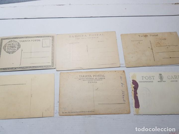 Fotografía antigua: Fotografía tarjeta postal lote 6 algunas selladas años 20-30 - Foto 8 - 175459689