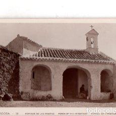 Fotografía antigua: TARJETA POSTAL FOTOGRAFICA. FOTO GODES. CORDOBA. PORTADA DE LAS ERMITAS.. Lote 175673949