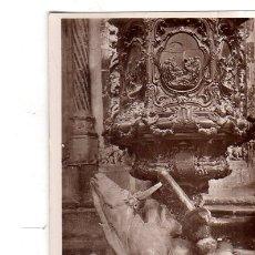 Fotografía antigua: TARJETA POSTAL FOTOGRAFICA. FOTO GODES. CORDOBA. PULPITO DE LA MEZQUITA.. Lote 175674008