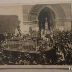 Fotografía antigua: ANTIGUA FOTOGRAFIA.CRISTO HUMILDAD PACIENCIA.OMNIUM SANCTORUM.SEMANA SANTA SEVILLA 1936.FOTO SERRANO. Lote 175806864
