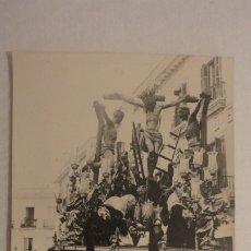 Fotografía antigua: ANTIGUA FOTOGRAFIA.CRISTO DE LA SALUD.CARRETERIA.SEMANA SANTA SEVILLA AÑOS 20,30.. Lote 175807127