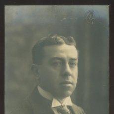 Fotografía antigua: FOTO *AMADEO, BARCELONA* AUTÓGRAFO *LLUIS MIR* FECHADA 1914. TEATRO.. Lote 176103900