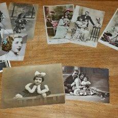 Fotografía antigua: LOTE 11 ANTIGUAS FOTOS. Lote 176186018