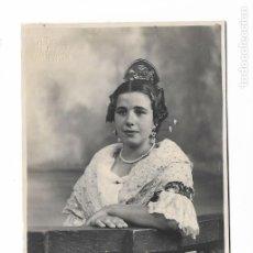 Fotografia antiga: ANTIGUA FOTOGRAFIA TARJETA POSTAL - FALLERA 1939 VALENCIA - SIN CIRCULAR. Lote 176236288