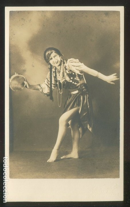 FOTO *S. FRANK, BERLIN* AUTÓGRAFO SIN DESCIFRAR. FECHADA 1931. (Fotografía Antigua - Tarjeta Postal)