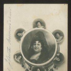 Fotografía antigua: FOTO ANÓNIMA. AUTÓGRAFO *MATILDE TORNAMIRA* FECHADA 1920.. Lote 176284015