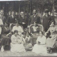 Fotografía antigua: ANTIGUA FOTOGRAFIA FAMILIAR.APELLIDO OQUENDO.MADRID 1919. DESTINO LOS SANTOS.BADAJOZ.. Lote 176693857