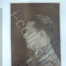 Fotografía antigua: FOTOGRAFÍA ANTIGUA. JOVEN DE PERFIL EN 1931. (12,7 CM X 7,7 CM).. Lote 176725574