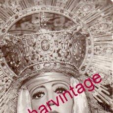 Fotografía antigua: SEMANA SANTA SEVILLA, ANTIGUA `POSTAL FOTOGRAFICA DE LA ESPERANZA DE TRIANA,RARA. Lote 176775472
