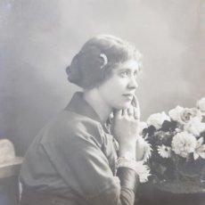 Fotografía antigua: FOTOGRAFÍA TARJETA POSTAL ESTUDIO 1914. Lote 176863519