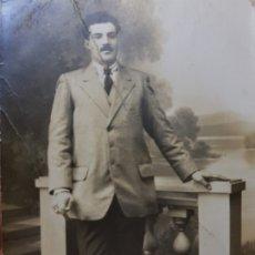 Fotografía antigua: FOTOGRAFÍA TARJETA POSTAL ESTUDIO 1918. Lote 176863570