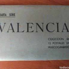 Fotografía antigua: ÁLBUM ( MUY BUSCADO, POSTALES VALENCIA EN HUECOGRABADO) ANTIGUAS. MÁS POSTALES EN MÍ PERFIL.. Lote 176918923